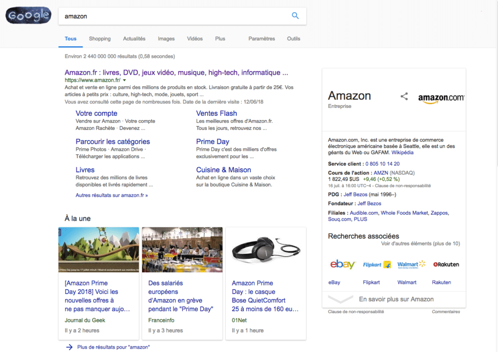 knowledge graph amazon