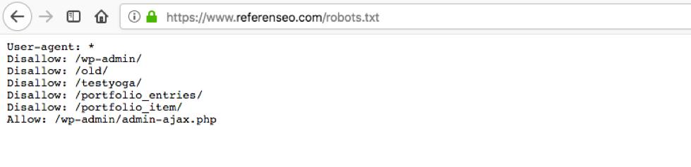 Fichier robots.txt