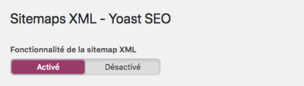Sitemaps XML