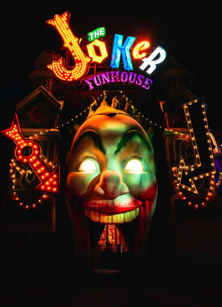 humour et attirance, la joker funhouse