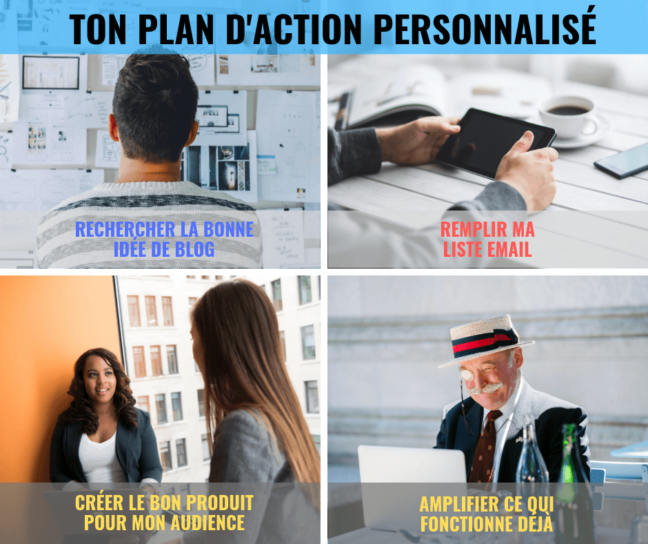 plan action blogueur