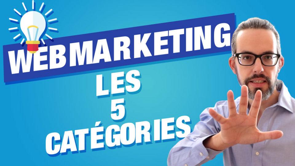 miniature 5 catégories webmarketing