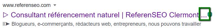 Affichage balise title coupée par Google