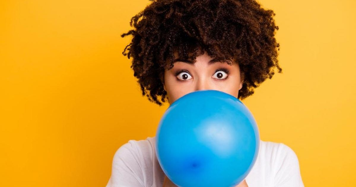 souffler ballon