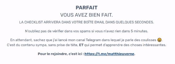 Telegram Matthieu