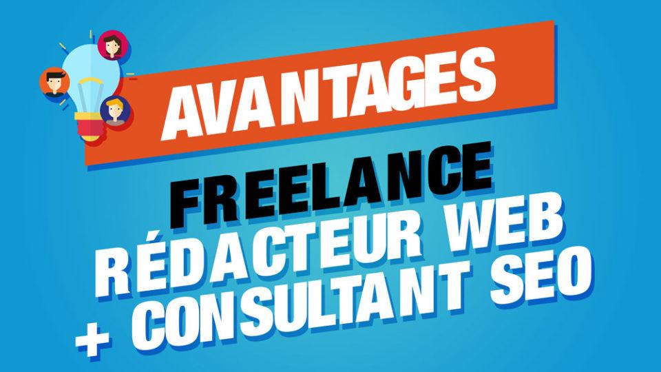 avantages rédacteur web consultant seo