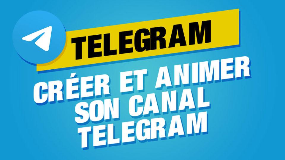 créer canal telegram